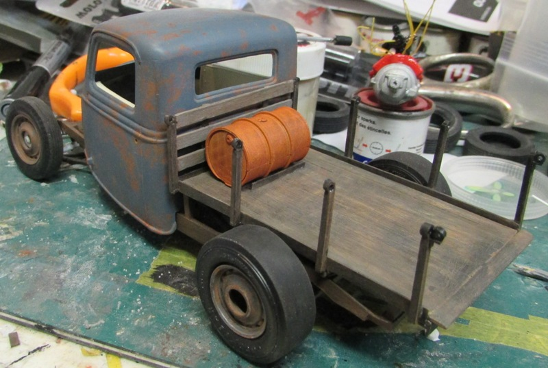 Shop report #11; 1937.  Ford Pickup Rat Rod  015_210