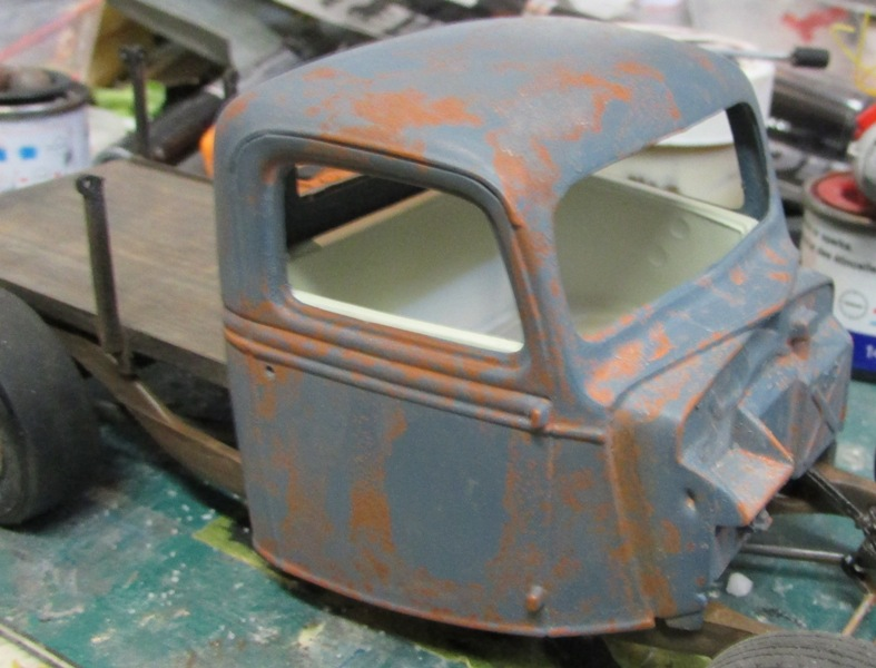 Shop report #11; 1937.  Ford Pickup Rat Rod  01812
