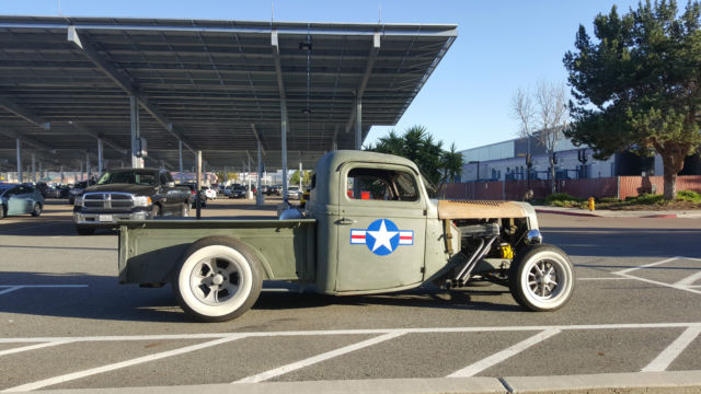 Shop report #11; 1937.  Ford Pickup Rat Rod  - Page 2 4de80113