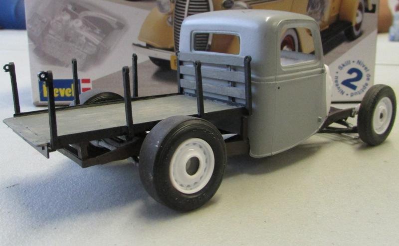 Shop report #11; 1937.  Ford Pickup Rat Rod  8158f310