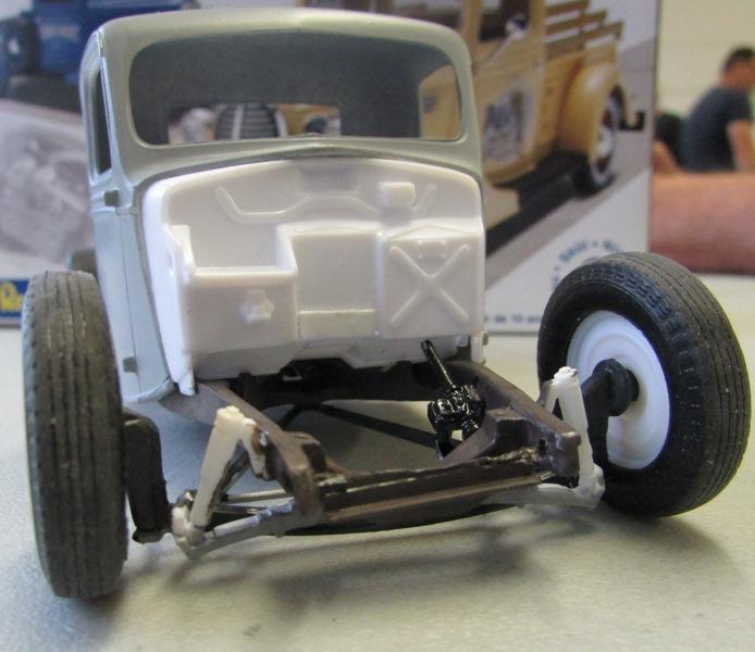 Shop report #11; 1937.  Ford Pickup Rat Rod  A2194210