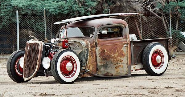 Shop report #11; 1937.  Ford Pickup Rat Rod  - Page 2 A5edd813