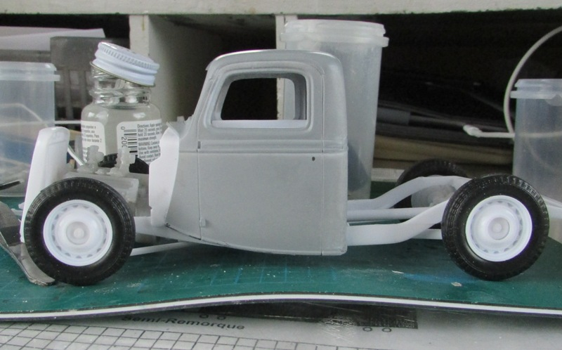 Shop report #11; 1937.  Ford Pickup Rat Rod  - Page 2 A66d7a13