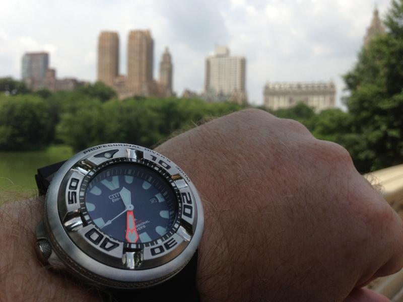 "citizen - citizen BJ-8050 dite ""Ecozilla"" diver's 300m Img_0810"