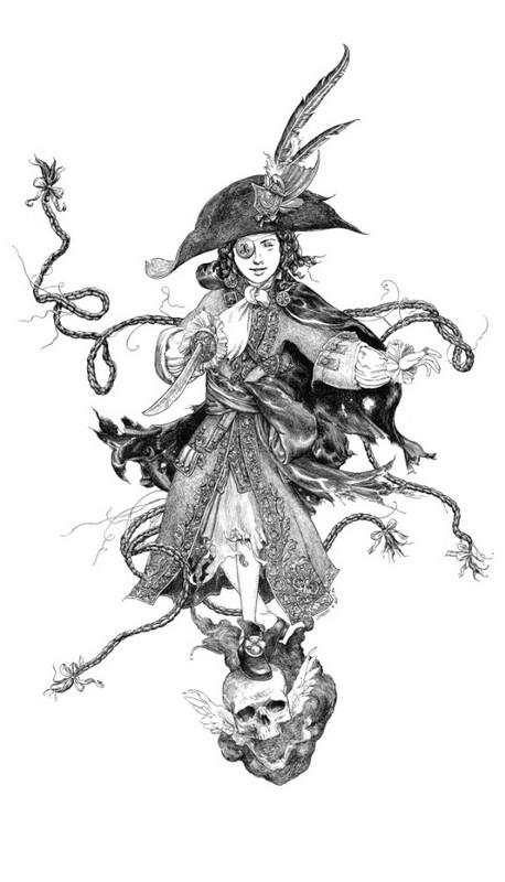 La Fille Maudite Du Capitaine Pirate, de Bastian (la cerise sur le gateau) 850_b711