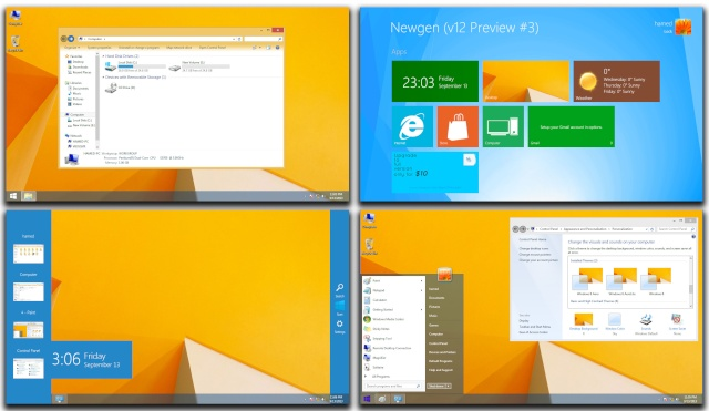 Win8.1 SkinPack for WIN 7 110