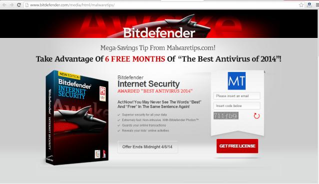 Miễn phí 6 tháng bản quyền Bitdefender Internet Security 2014 1210