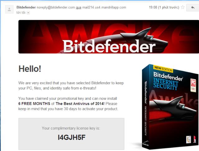 Miễn phí 6 tháng bản quyền Bitdefender Internet Security 2014 1610