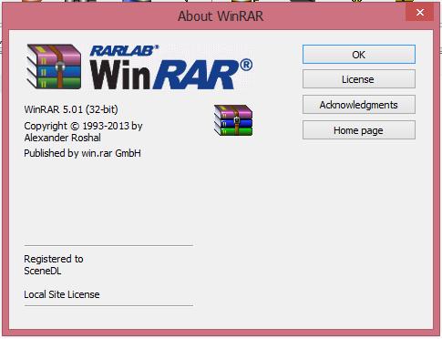 Phần mềm nén và giải nén WinRAR 5.01+key active  210
