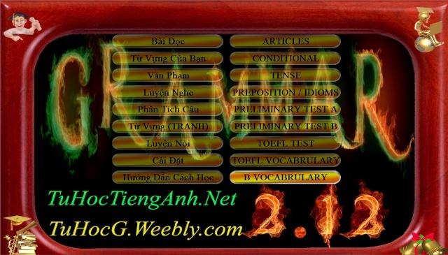 Phần mềm tự học tiếng anh Grammar 2.12 (4 đĩa) Captur11