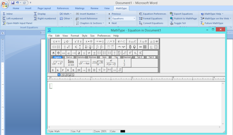 MathType 6.9 full - Phần mềm soạn thảo công thức Captur12