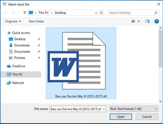 Hướng dẫn chuyển mã cho văn bản bằng Unikey Toolkit Chuyen14