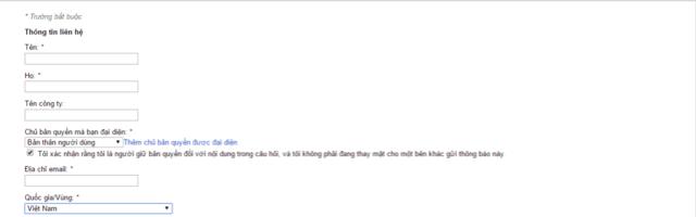 Hướng dẫn báo cáo website copy bài viết lên google DMCA Google13