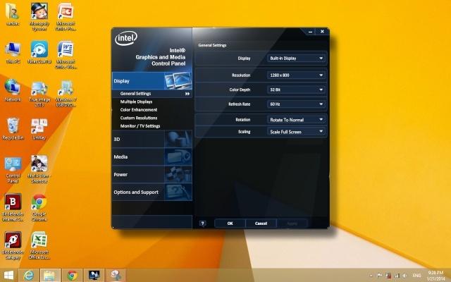 Mobile Intel Series 4 Driver Win8 / 8.1  Gui10