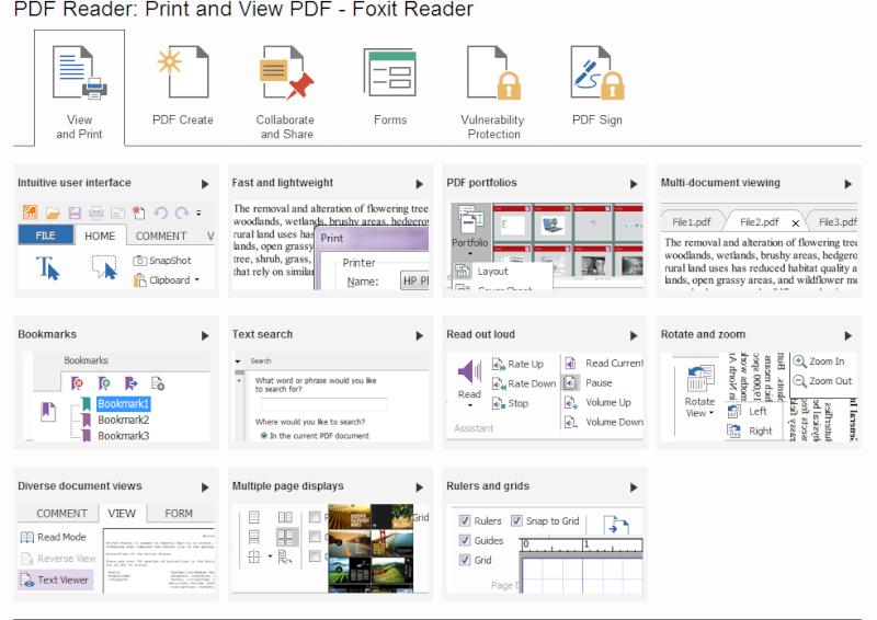 Phần mềm đọc file PDF-Foxit Reader 6.1.1.1031 Pdf110