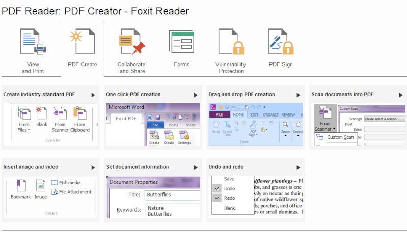 Phần mềm đọc file PDF-Foxit Reader 6.1.1.1031 Pdf210