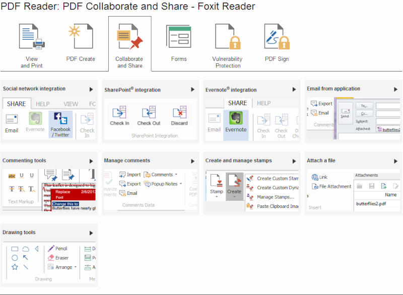 Phần mềm đọc file PDF-Foxit Reader 6.1.1.1031 Pdf310