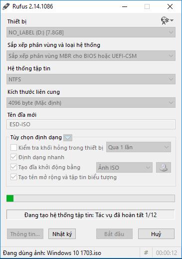 Hướng dẫn tạo USB Boot cài windows bằng Rufus Usb_bo13