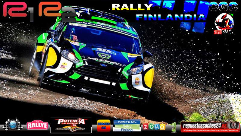 Roadbook Rally Finlandia R1 y R2 [#RBR] Rally10