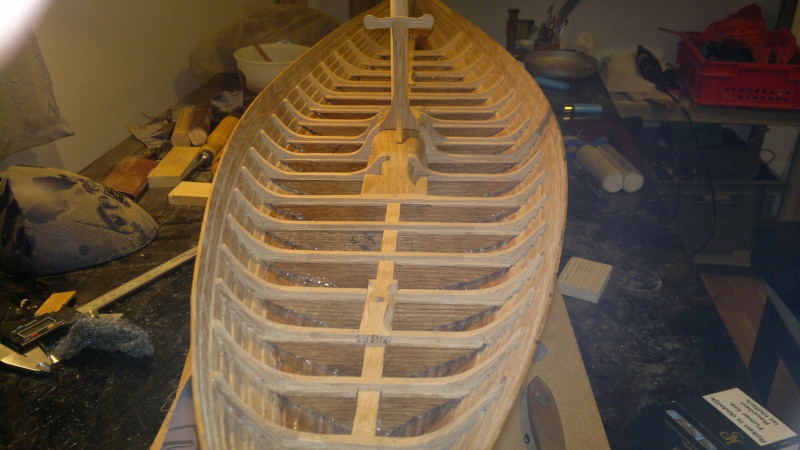Is Havoter , langskip viking Gokstad replica  - Page 5 07042010