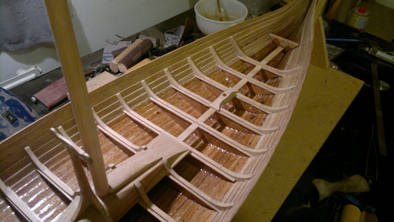Is Havoter , langskip viking Gokstad replica  - Page 5 07042012