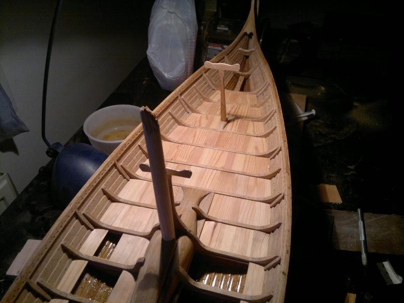 Is Havoter , langskip viking Gokstad replica  - Page 8 08052010