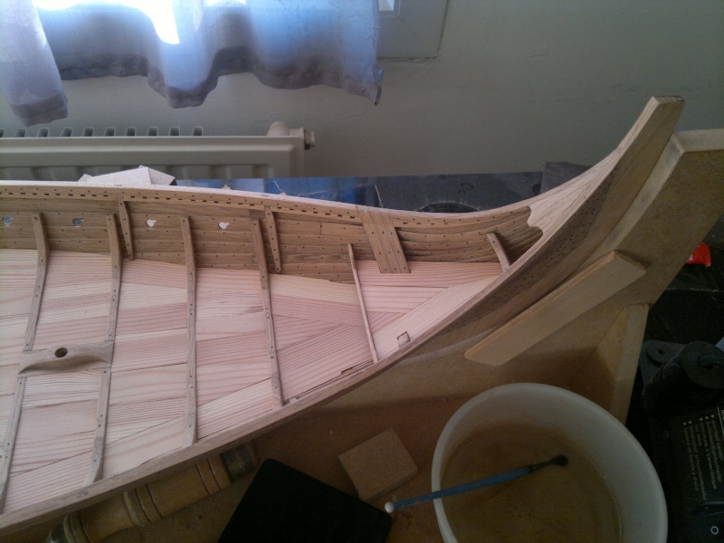 Is Havoter , langskip viking Gokstad replica  - Page 8 19052013