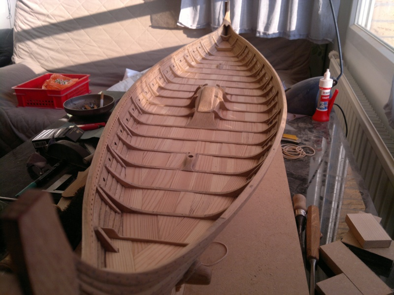 Is Havoter , langskip viking Gokstad replica  - Page 9 19052014