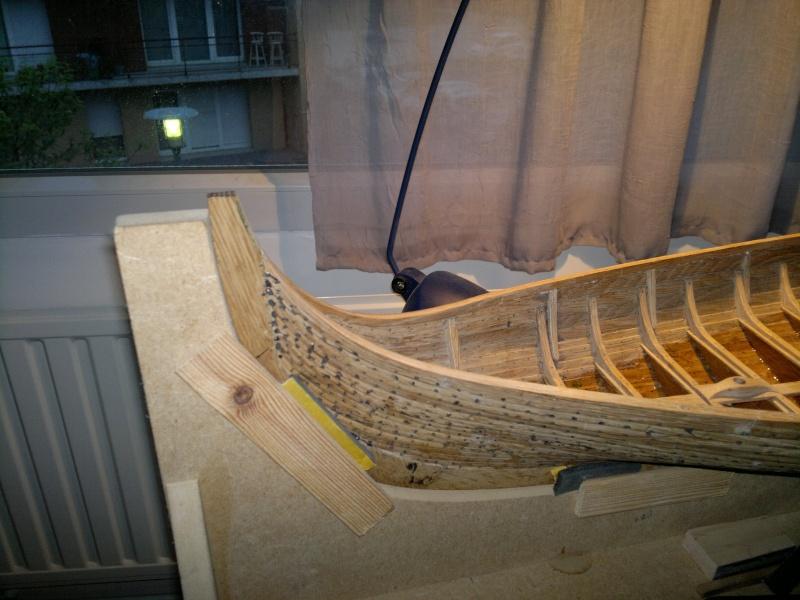 Is Havoter , langskip viking Gokstad replica  - Page 7 24042011