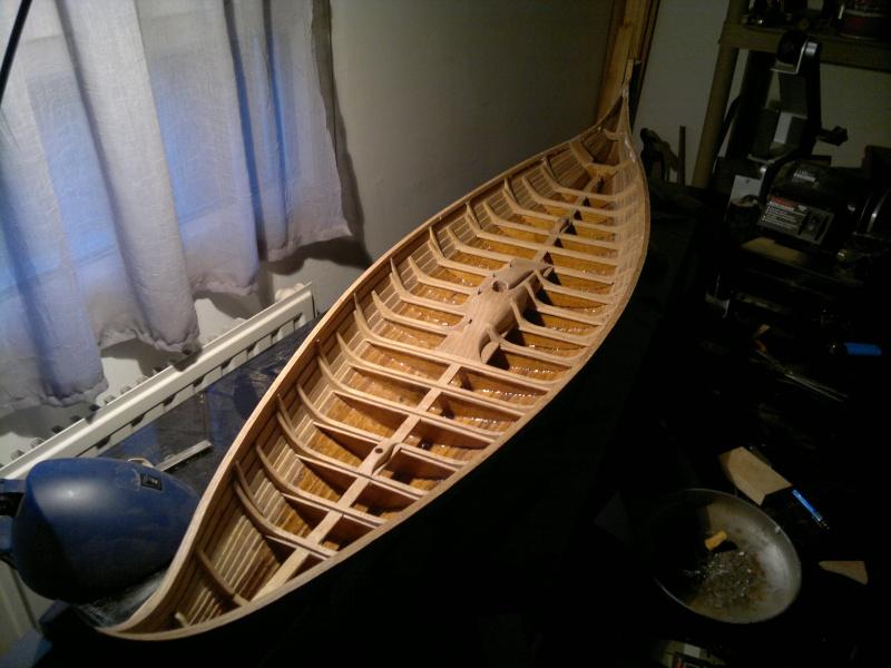Is Havoter , langskip viking Gokstad replica  - Page 7 24042012