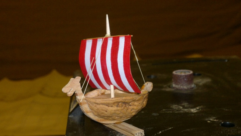 Is Havoter , langskip viking Gokstad replica  - Page 5 27032010