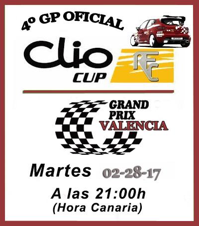 CUARTO GP VALENCIA -CLIO CUP Cliocu10