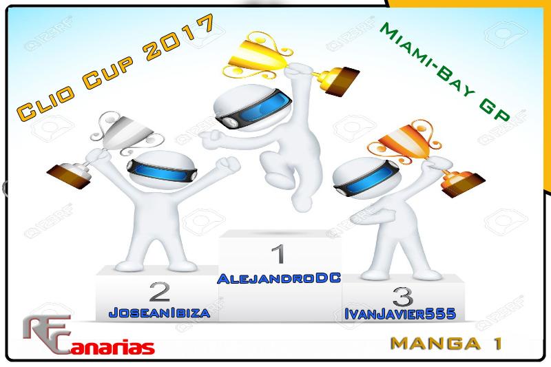 QUINTO GP CLIO CUP 2017 ( MIAMI ) Manga210
