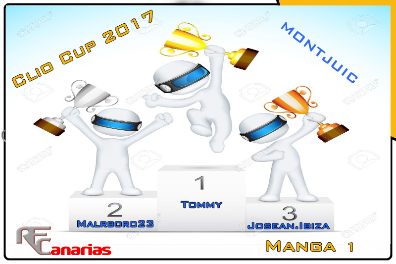 SEGUNDO GP CLIO CUP ( MONTJUIC ) Podium10