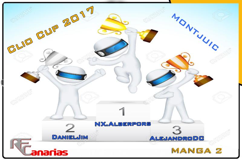 SEGUNDO GP CLIO CUP ( MONTJUIC ) Podium11