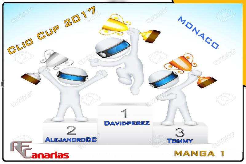 TERCER GP MONACO (CLIO CUP 2017) Podium12