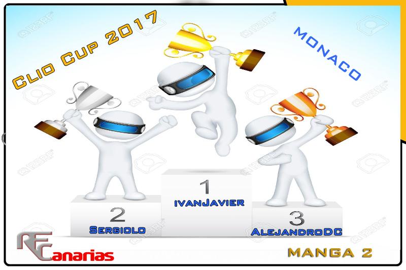 TERCER GP MONACO (CLIO CUP 2017) Podium13