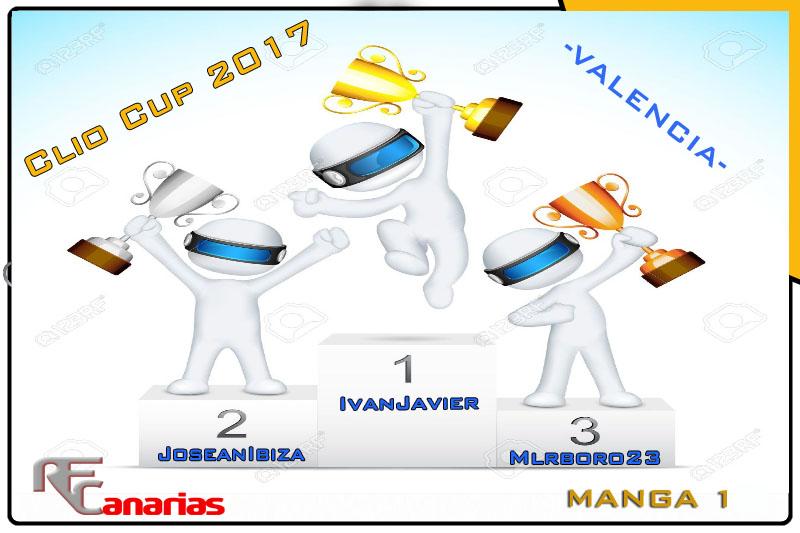 CUARTO GP VALENCIA -CLIO CUP Podium14