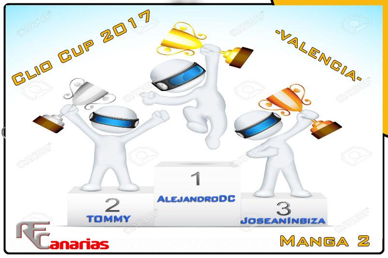 CUARTO GP VALENCIA -CLIO CUP Podium15