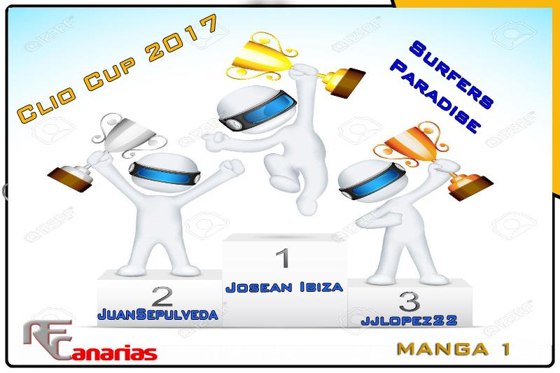 ULTIMO GP DE LA CLIO CUP EN SURFERS PARADICE Podium16