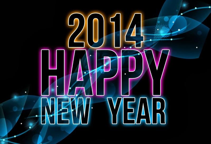 ◘◘◘ تهنئة بالعام الجديد  2014 م ◘◘◘ 429