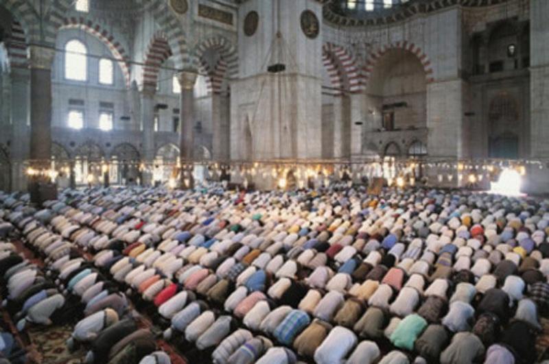 صلاة التراويح في شهر رمضان. 52310