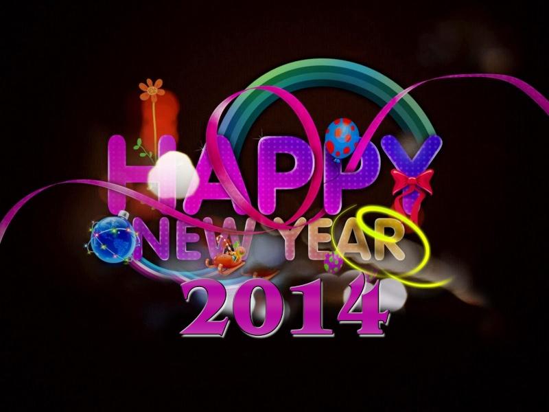 ◘◘◘ تهنئة بالعام الجديد  2014 م ◘◘◘ K04w10
