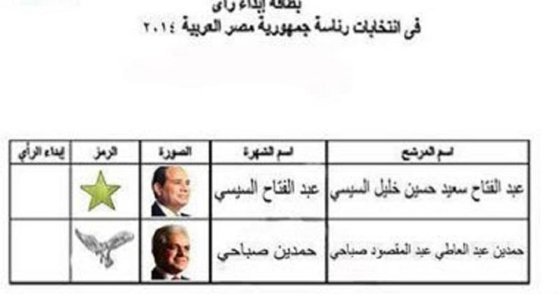 الانتخابات الرئاسية المصرية 26 و ٢٧ من مايو   2014م Ooouo10