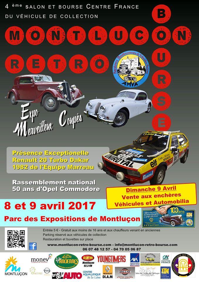 Rétro Bourse  8 et 9 avril 2017 a Montluçon 17310910