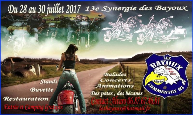 13e Synergie des Bayoux Affich10