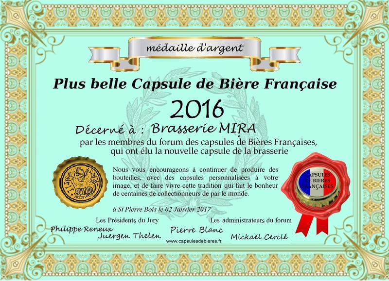 Remise du diplôme 2eme prix 2016 à la Brasserie Mira 2016_d10