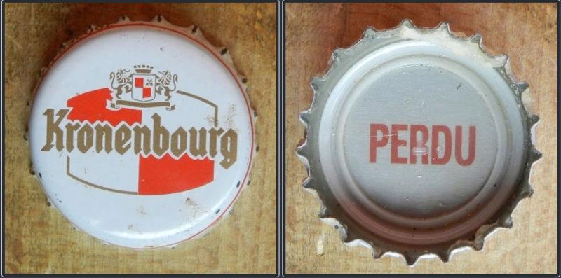 capsules de bière françaises avec un intérieur imprimé Kro10