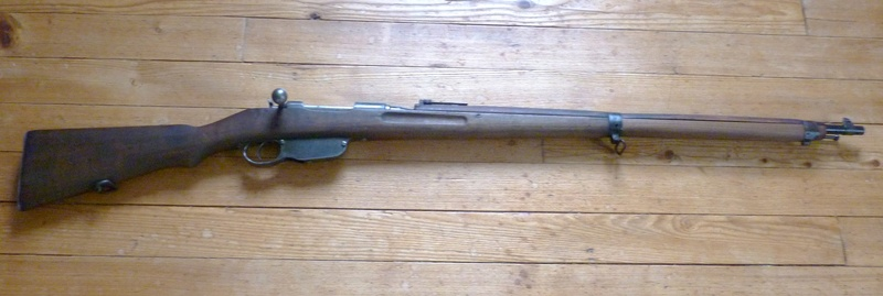 Restauration Steyr Mannlicher M95 P1030814