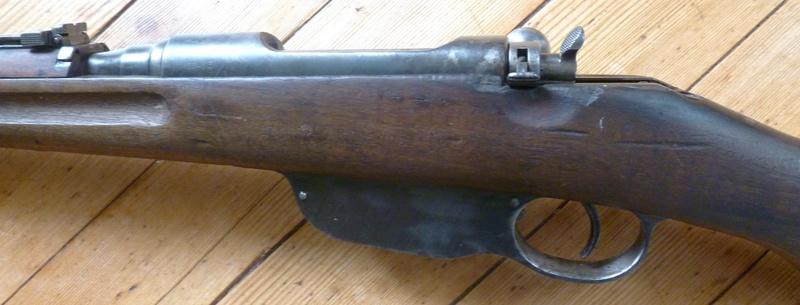 Restauration Steyr Mannlicher M95 P1030818